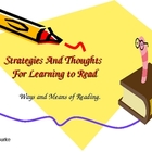 Some Information About Basic Reading Strategies
