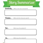Story Summarizing-Somebody Wanted But So-Graphic Organizer