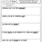 Somebody/Wanted/But/So/Then Graphic Organizer-Treasures 3rd Grade