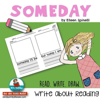 Someday 'Literature Response' by Eileen Spinelli