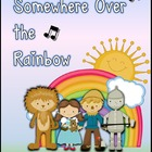Somewhere Over the Rainbow - A Character Trait Writing Mini-Unit