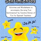 Song &amp; Activities to Teach Feelings in Spanish 