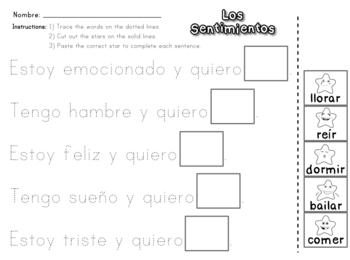 Song & Activities to Teach Feelings in Spanish