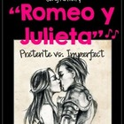 "Song Cloze:""Romeo y Julieta"" cancion del preterito y imperfecto"