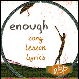 Song, lesson plan/lyrics--promotes tolerance--reflects cur