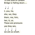 Song to Help Remember Pronouns