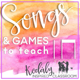 Songs and Games to Teach Ta and Titi {Bundle}