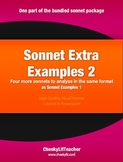 Sonnet Extra Examples 2