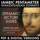 Sonnets – Iambic Pentameter – Shakespeare's Poetry L