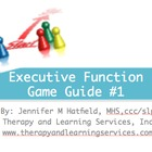 Sorry! Executive Function Game Guide