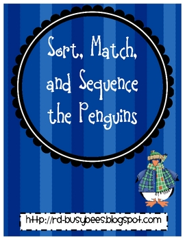 Sort and Match the Penguins