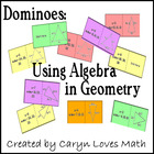 Sort:Using Algebra to find measures in Geometry~Dominoes