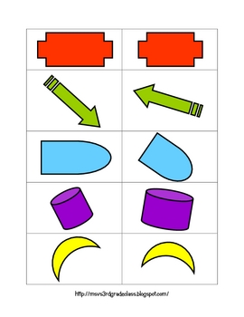 Sorting Congruent and Similar Shapes