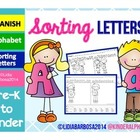 Sorting Letters- SPANISH