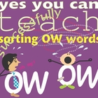 Sorting &quot;OW&quot; Words