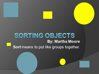 Sorting Objects PowerPoint
