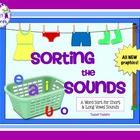 Sorting the Sounds: Word Work for Short and Long Vowel Sounds