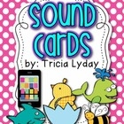 Sound Cards/ Phonogram cards BRIGHT polka Dot!