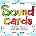 Sound Cards! {Second Grade Cup of Tea}
