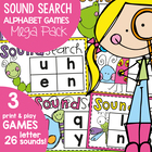 Sound Search - Phonics Alphabet Game / Center