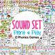 Sound Set - 12 Phonics Games for Literacy Groups Centers