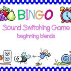 Sound Switching BINGO {beginning blends}