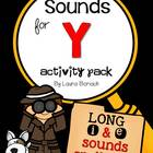 Sounds for Y ~ Activity Pack {Long i & Long e spelled with y}