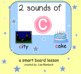 Sounds of C Phonics SmartBoard Lesson for Primary Grades
