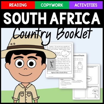 South Africa Copywork and Activities