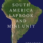 South America Lapbook and Mini Unit