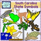 South Carolina state symbols clipart