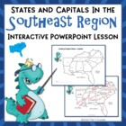 Southeast Region Interactive States + Capitals Powerpoint