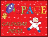 Space Calendar Pieces