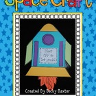 Space Craft &amp; Writing Activity