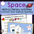 Space: Cross-Curricular Activities to Enrich Your Science 