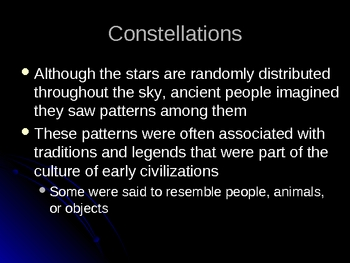 Space Earth and Celestial Objects PowerPoint Presentation