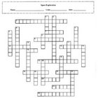Space Exploration Crossword Puzzle with Key