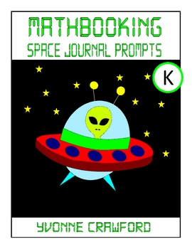 Space Mathbooking - Math Journal Prompts (kindergarten)