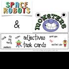 Space Robots &amp; Monsters Task Cards