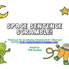 Space Sentence Scramble!