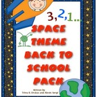 Space Theme Back to School Mega Pack