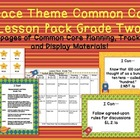 Space Theme Grade Two Common Core Lesson Planning Pack