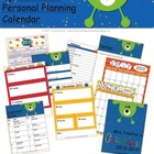 Space Themed 2013-2014 Personal Planning Calendar