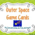 Space Vocabulary Game Cards
