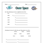 Space Worksheet Activities