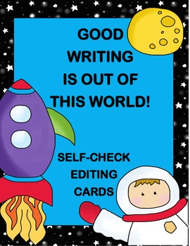 Space Writing Self Check Editing Task Cards