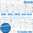 Space read, trace, glue, and draw