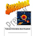 Spacebook:  Workbook about planets
