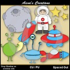 Spaced Out Clipart