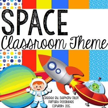 Spaced Theme Classroom Packet